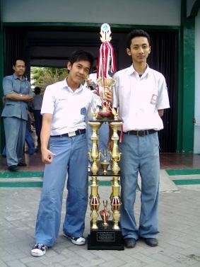 Memboyong Trophy Mendiknas dalam Olimpiade KIMIA