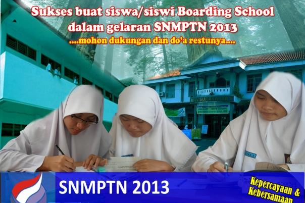 BS Sukses SNMPTN 2012